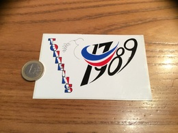 AUTOCOLLANT, Sticker *x «1789 1989 - TONNEINS (47)» (bicentenaire Révolution) - Autocollants