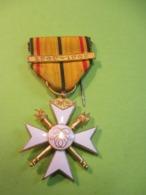 Médaille/  Croix Civiles / Belgique/ 1940-1945/  / Vers 1960             MED351 - Belgique