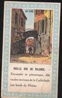 Collections Pub Chocolats Fins Le Rhone Valence Vieille Rue N° 102 - Verzamelingen