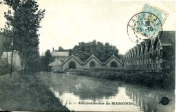 N°5031 T -cpa Amidonneries De Marcoing - Marcoing