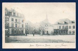 Arlon. Marché Au Beurre ( Botermahrt- Grand'Place). Clocher De L'ancienne église St. Martin. 1901 - Arlon