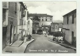 SIPICCIANO ( VITERBO ) VIA S.BERNARDINO  VIAGGIATA  FG - Viterbo