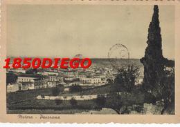 MATERA - PANORAMA VISTA DALLA COLLINA MONTAGNY F/GRANDE VIAGGIATA 1949 - Matera