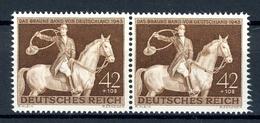 Deutsches Reich Abart MiNr. 854 I Postfrisch MNH Gepr. Schlegel (D156 - Errors And Oddities