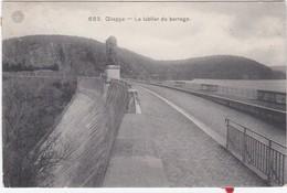 CPA N&b GILEPPE - Le Tablier Du Barrage - Gileppe (Barrage)