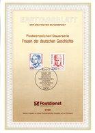 """(bFDC) BRD Amtl. Ersttagsblatt ETB 9/1991 Mi.1497/98 """"Frauen: Sophie Scholl,Bertha Von Suttner"""" ESSt 14.2.91 BONN 1 - Sin Clasificación"""