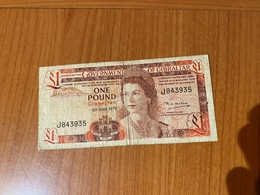 GOUVERNMENT OF GIBRALTAR -  1 Pound 1979  ( Port Offert ) - Gibraltar