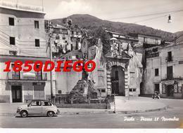 PAOLA - PIAZZA IV NOVEMBRE F/GRANDE VIAGGIATA ANIMATA - Cosenza