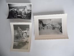 3 Photographies De Soldats Français En Allemagne  En Août 1947 à Kehl - Guerre, Militaire
