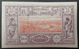 R2740/160 - 1894/1900 - PROTECTORAT - CÔTE DES SOMALIS - N°16 NEUF* - Cote (2020) : 63,00 € - Nuovi