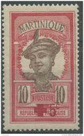 Martinique (1915)  N 82 * (charniere) - Martinique (1886-1947)
