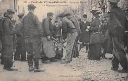 02 - Villers-Cotterêts - Chasse à Courre - Equipage Menier - Le Dépeçageà Bonneuil - Magnifique Animation - Jagd