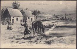 CPA Légende De Saint-Saulge, Circulé 1923 - Frankreich