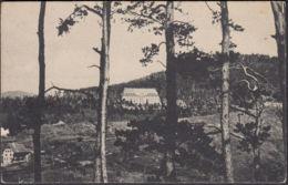 CPA Sanatorium Du Chemin Du Fer Munster Circulé 1927 - Munster