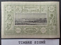 R2740/161 - 1894/1900 - PROTECTORAT - CÔTE DES SOMALIS - N°17 NEUF* ☛ Timbre Signé - Nuovi