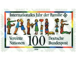 Ref. 50353 * MNH * - GERMAN FEDERAL REPUBLIC. 1994. INTERNATIONAL YEAR OF THE FAMILY . AÑO INTERNACIONAL DE LA FAMILIA - Dogs