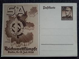 DR 1938, Postkarte P271 Ungebraucht - Ganzsachen