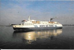 CPA-1988-FERRY-GB-CIE NORTH SEA FERRIES-M.V NORSTAR-Lignes HULL Vers Rotterdam Et Zeebrugge-Rebus 2010-TBE - Veerboten