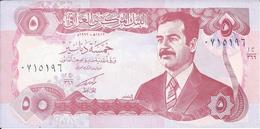 IRAK   5  Dinars  1992   -- UNC -- - Iraq