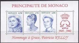 Monaco Bloc N° 89 ** Neuf ** - Hommage à Grace Patricia Kelly 2004. - Blocks & Sheetlets