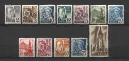 17109 ALLEMAGNE Bade N°1/13**sauf 12  Série   1947-48   TB/TTB - Zone Française