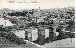 MEZIERES. Le Pont D'Arches. Vue Générale (train) - Charleville