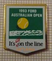TENNIS 1993 FORD AUSTRALIAN OPEN  AUSTRALIE - Tenis