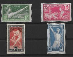 France N°183/186** Cote 160€ - Nuovi