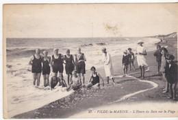 Vilde-la-Marine - L' Heure Du Bain Sur La Plage - 1934 - Other Municipalities