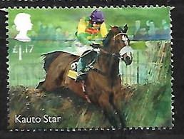 GB 2017 FAMOUS RACEHORSE KAUTO STAR - 1952-.... (Elizabeth II)