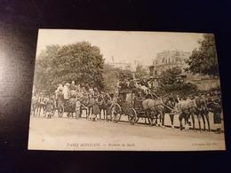 Rare Cpa Paris Mondain Réunion De Mails - France