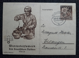 DR 1938, Postkarte P274 Bild 02, ALTENBURG THÜRINGEN - Allemagne