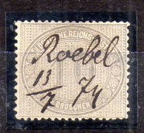 Alemania Imperio Sello Nº Michel 12 O Valor Catálogo 175.0€ OFERTA (OFFER) - Germany