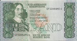 AFRIQUE DU SUD 10 RAND ND1990-93 AUNC P 120 E - Afrique Du Sud