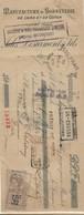 FISCAUX FRANCE AFFICHE N°31 30 C BISTRE USAGE BANALISE SUR TRAITE 1926 - Fiscale Zegels