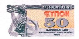 Ukraine 50 Karbovantsiv, P-86a (1991) - UNC - Oekraïne