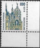 2001 Allem. Fed. Deutschland  Mi. 2156 **MNH  EUR    Sehenswürdigkeiten:Schloss Schwerin - Unused Stamps