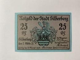 Allemagne Notgeld Silberberg 25 Pfennig - [ 3] 1918-1933 : République De Weimar