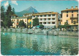 CANNERO RIVIERA - VERBANIA - LUNGO LAGO CON L'ALBERGO MILANO -96454- - Verbania