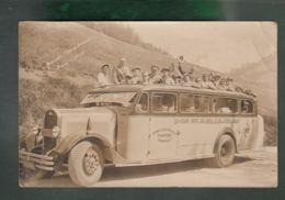 CPA - 38 - Grenoble - Etalissement Traffort - Autobus - Carte Photo De1935 - Grande Chartreuse - Grenoble
