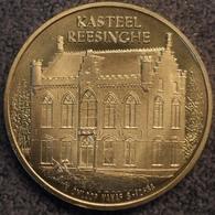 4108 Vz Kasteel Reesinghe - Kz Maldegem 100 Ridders - Gemeentepenningen