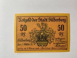 Allemagne Notgeld Silberberg 50 Pfennig - [ 3] 1918-1933 : République De Weimar