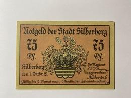 Allemagne Notgeld Silberberg 75 Pfennig - [ 3] 1918-1933 : République De Weimar