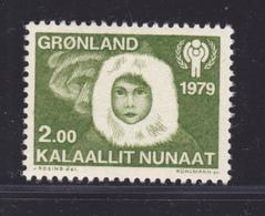DANEMARK GROENLAND N°  106 ** MNH Neuf Sans Charnière, TB, Année De L'enfant UNICEF 1979 (D9069) - Groenland
