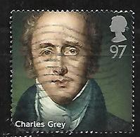 GB 2014 PRIME MINISTERS CHARLES GREY & WILLIAM GLADSTONE 97p HV PAIR - 1952-.... (Elizabeth II)