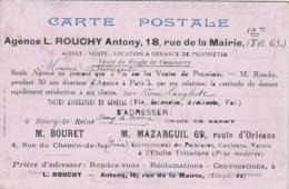 Commerce - Agence Rouchy - Immobilier - Antony - Assurances - Bourg-la-Reine - Publicité - Vari