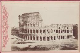 Photographies - XIXème Siècle - Photographe Formato Gabinetto - Milano - Arènes - Archéologie - Fotografia