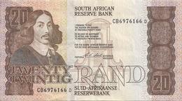 AFRIQUE DU SUD 20 RAND ND1990-93 VF+ P 121 E - Afrique Du Sud
