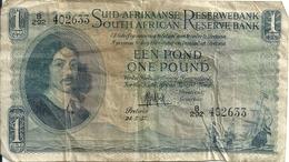 AFRIQUE DU SUD 1 RAND 1957 VG+ P 93 E - Afrique Du Sud