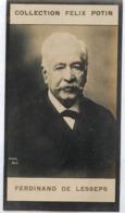 Ferdinand De Lesseps Né à Versailles † La Chesnaye Guilly (Indre) - Canal De Panama  - Collection Photo Felix POTIN 1900 - Félix Potin